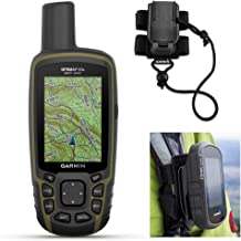 $419 » Garmin GPSMAP 65s Hiking GPS Bundle | +Garmin GPS Backpack Tether | TOPO Maps, Sensors & GNSS Support | Rugged GPS Handheld