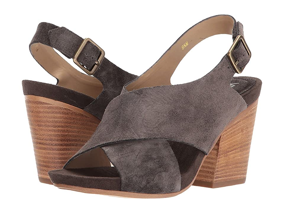 Vaneli Felda (Mouse Nival Suede/Old Gold Buckle) High Heels