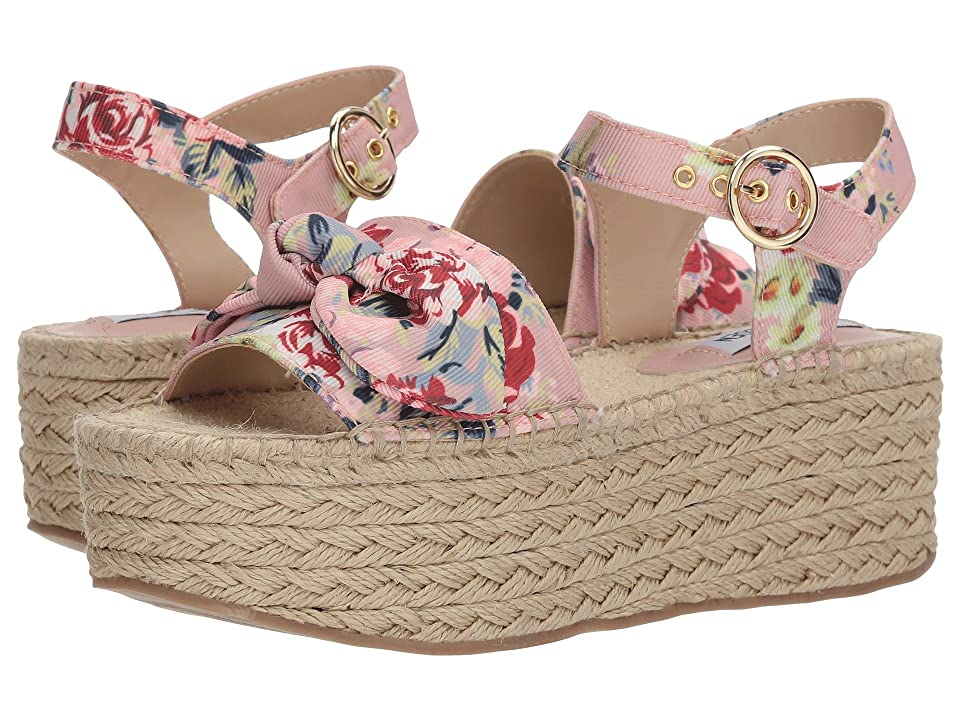 Steve Madden Union Espadrille Wedge Sandal (Floral Multi) Women