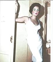 Elizabeth Taylor in slip color 8x10 inch Photo - 004