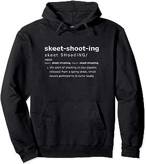 Funny Trap Skeet Shooting Definition Pullover Hoodie