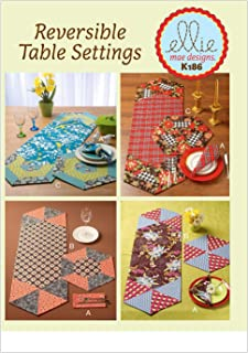 KWIK-SEW PATTERNS K0186 Napkins, Placemats and Runners, One Size Only