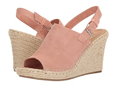 TOMS Monica (Bloom Suede) Women