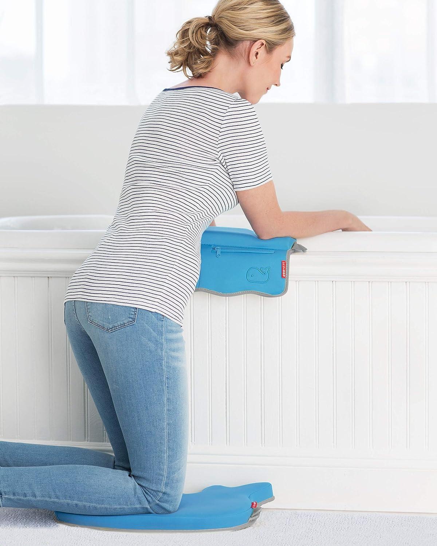 Skip Hop Baby Bath Elbow Rest, Moby, Blue