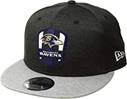9Fifty Official Sideline Away Snapback - Baltimore Ravens