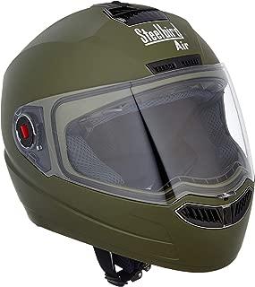 Steelbird SBA-1 Matt Battle Green with plain visor,600 mm