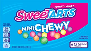 SweeTARTS Mini Chewy Candy Video Box, 3.75 Ounce (Pack of 12)