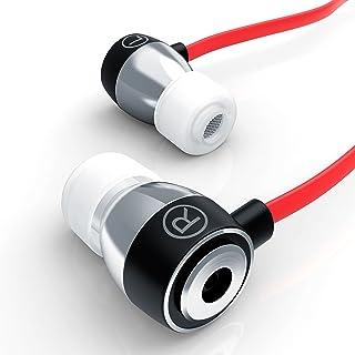 comprar comparacion LIAM & DAAN - Auriculares inEar ALU Ultimate 640 Flat Style - diseño reducción de Ruido passiv - EP Power Bass - Sistema d...