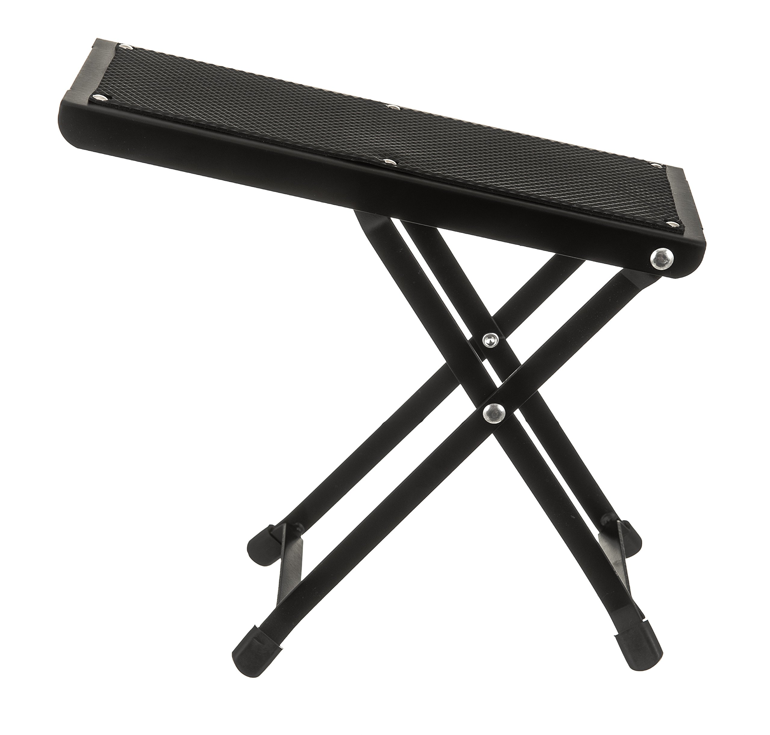 Plegable Ajustable Guitarra Pie Resto de metal taburete acústica ...