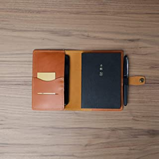 Coal Creek Leather Cover for Hobonichi Techo Planner A6 4.1x5.8