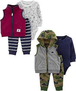 2-pack 3-piece Vest Set