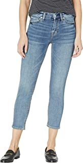7 For All Mankind Women's B(Air) Kimmie Crop Jeans in Fortune