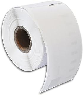 Confezione da 10 Compatibile per Dymo 11352PP Plastica Termico Bianco Etichette di indirizzos