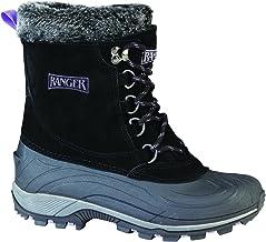 "Ranger Champney 9"" Women's Suede Winter Boots, Black"