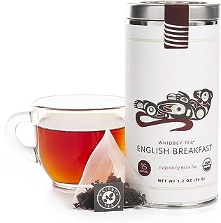 Sponsored Ad - Whidbey - English Breakfast Tea Bags - Premium Certified Organic. High Caffeine, Artisan Black Assam Tisane...