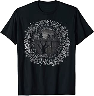 Netflix Stranger Things Into The Upside Down Silhouettes T-Shirt