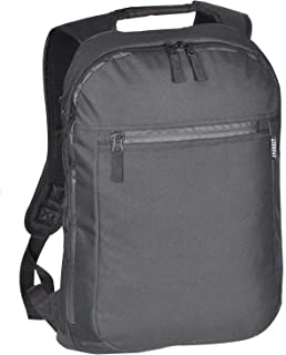Everest Luggage Slim Laptop Backpack, Black, Black, One Size
