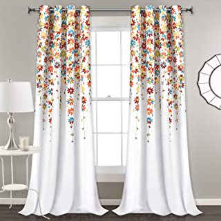 Curtains Drapes Floral Curtains Drapes Window Treatments Home Kitchen