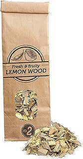 500mL virutas de madera de limonero para barbacoa y ahumar, talla 5mm-1cm, Smokey Olive Wood