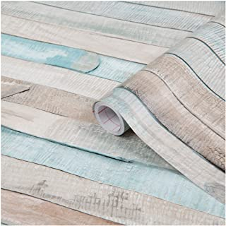 "d-c-fix 346-0644 Decorative Self-Adhesive Film, Beach Wood, 17"" x 78"" Roll"