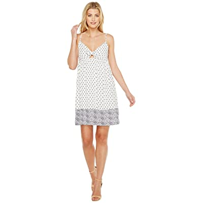 Splendid Twist Front Dress (White) Women