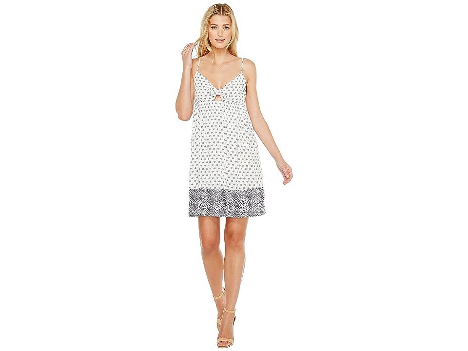 Splendid Twist Front Dress (White) Women