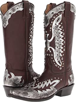 Studded Eagle Boot