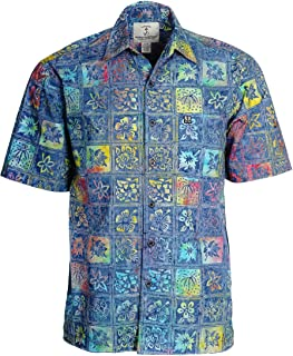 Mens Catalina Island Batik Cotton Shirt