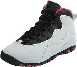 Girls AIR Jordan 10 Retro (GS) 'Vivid Pink' - 487211-008