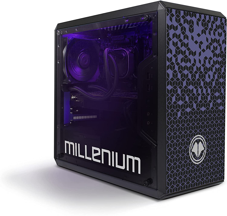 Millenium REKSAI PC - Ordenador de Sobremesa Gaming (Intel Core I5 10400F, DDR4 16GB, HDD 1TB + SSD 240GB, Nvidia GeForce RTX 3060, Windows 10)
