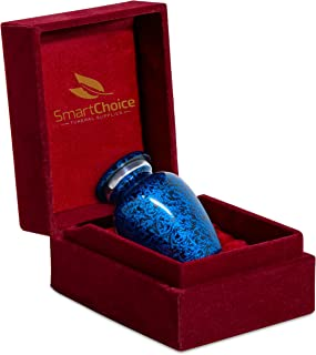 SmartChoice Urn Keepsake for Ashes Cremation Urn Keepsake for Human Ashes - Affordable Funeral Keepsake Urn for Ashes Hand...
