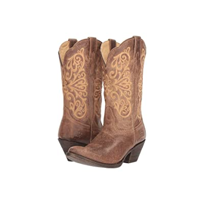Ariat Terra Bella (Turnback Tan) Cowboy Boots