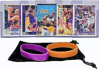 Charles Barkley Basketball Cards Assorted (5) Bundle - Phoenix Suns, Houston Rockets Trading Card Gift Pack