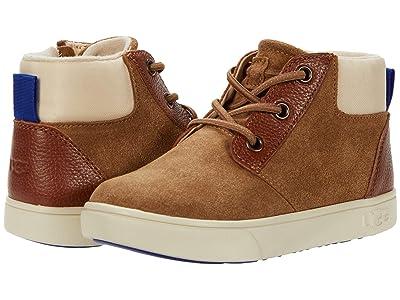 UGG Kids Jayes Sneaker (Toddler/Little Kid) (Chestnut) Kid