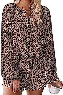 Yidarton Women's Solid Button Down Long Sleeve Chiffon Shirt with Chest Pocket
