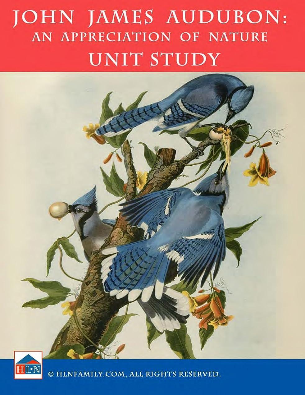 スクランブルふざけたクラフトJames Audubon: An Appreciation of Nature Unit Study (English Edition)
