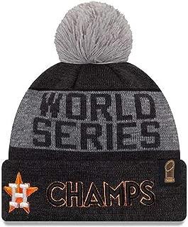 2017 NEW ERA MLB WORLD SERIES CHAMPIONS HUSTON ASTROS KNIT GREY