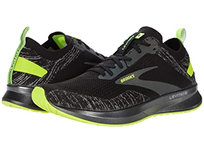 Brooks Levitate 4 (Black/Nightlife) Men