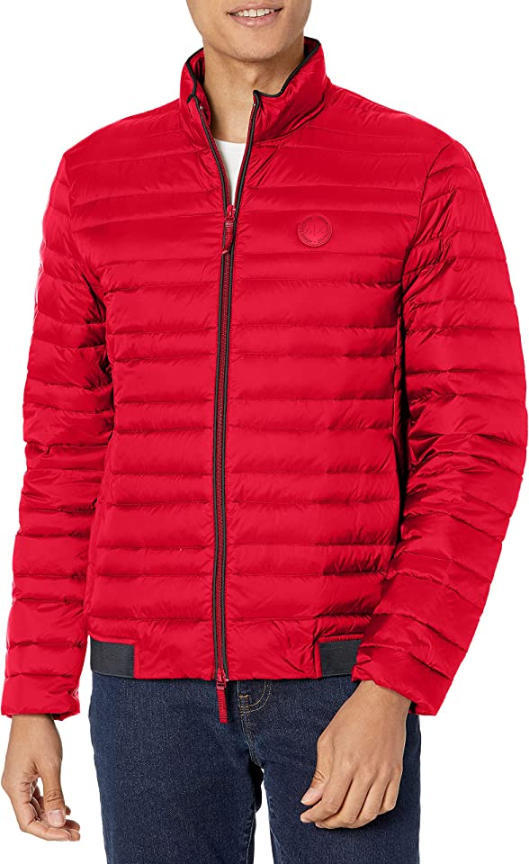 AX Armani Exchange mens Down Packable Puffer