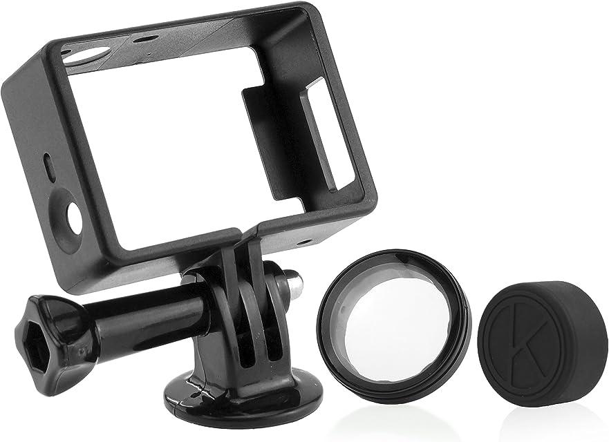 CamKix Montaje de Marco para GoPro – Compatible con GoPro Hero 4/3/3+ Camara - USB HDMI y SD Tragamonedas Totalmente Accesible – Ligera y Compacto para el Hogar y para Camara de Accion