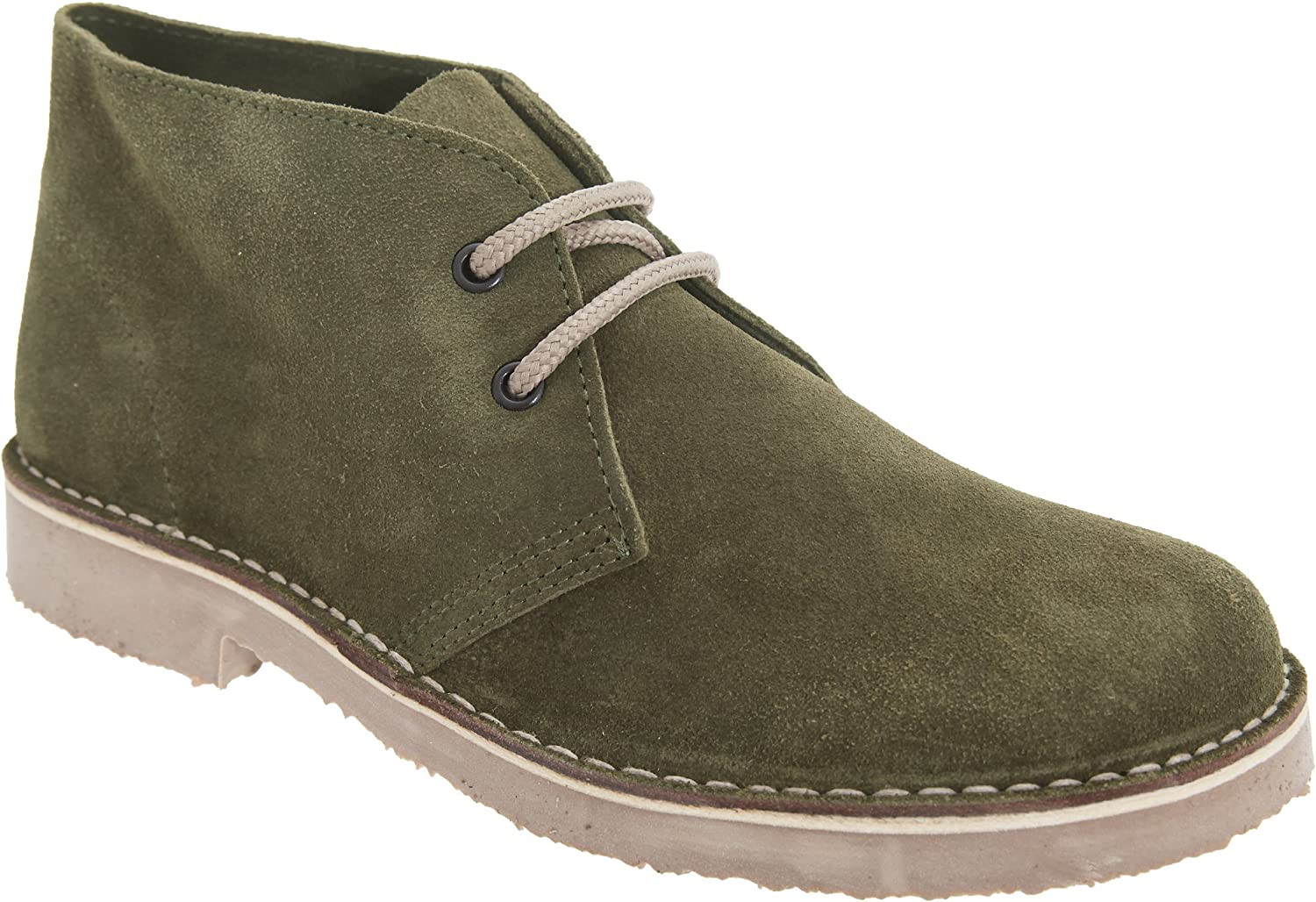 Roamer Womens Ladies Real Suede Round Toe Unlined Desert Boots