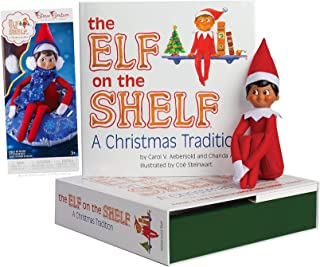 The Elf on the Shelf: A Christmas Tradition Boy Scout Elf (Brown Eyed) with Claus Couture Collection Totally Tubular Snow Set