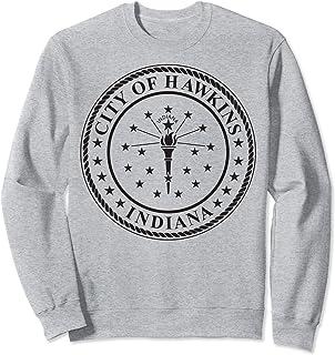 Netflix Stranger Things City Of Hawkins Indiana Seal Sweatshirt