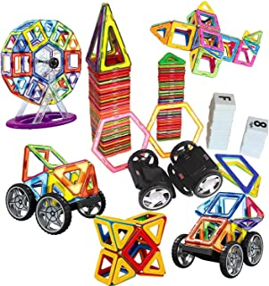 مجموعة مكعبات البناء لبناء منزل، ألعاب مناسبة ورائعة للأطفال الصغار من الأولاد والبنات، 139 قطعة