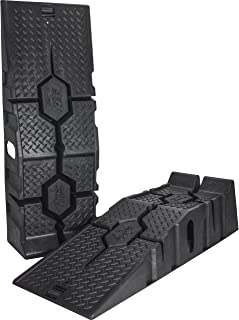 RhinoGear 11912 RhinoRamps MAX Vehicle Ramps – Set of 2 (16,000lb. GVW Capacity)