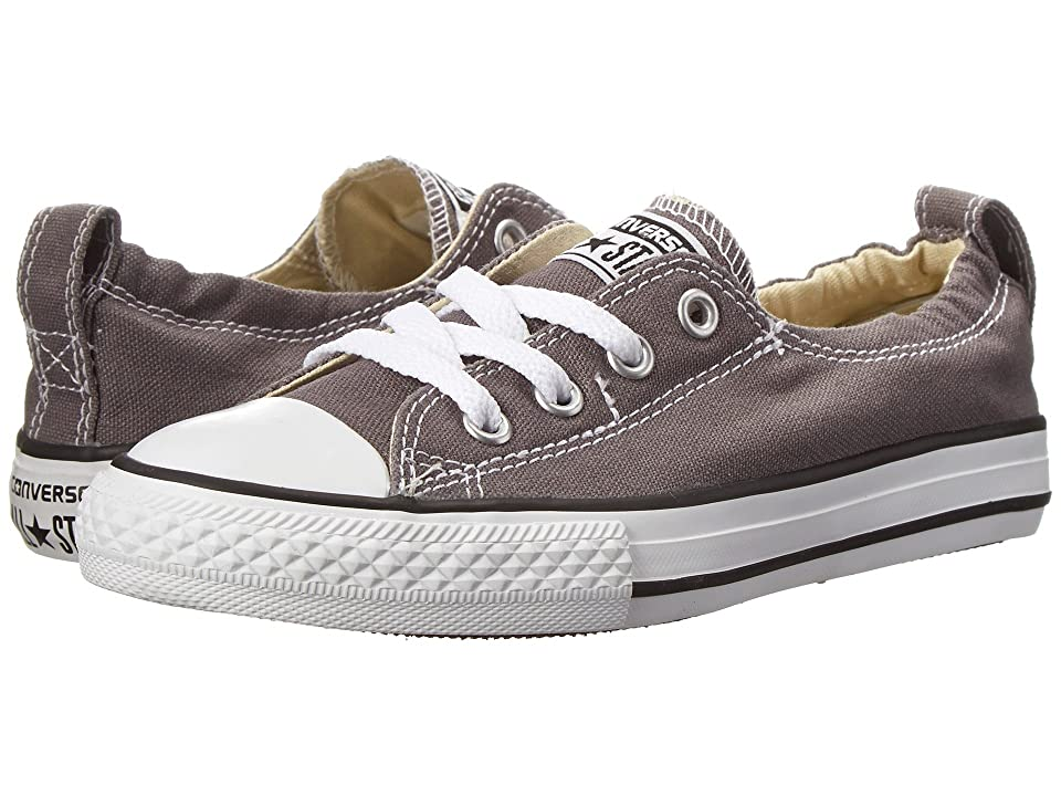 Converse Kids Chuck Taylor(r) All Star(r) Shoreline Slip (Little Kid/Big Kid) (Charcoal) Girls Shoes