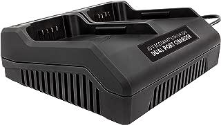 Snow Joe + Sun Joe iCHRG40-DPC EcoSharp Lithium-Ion Battery Dual Port Charger | 40 Volt