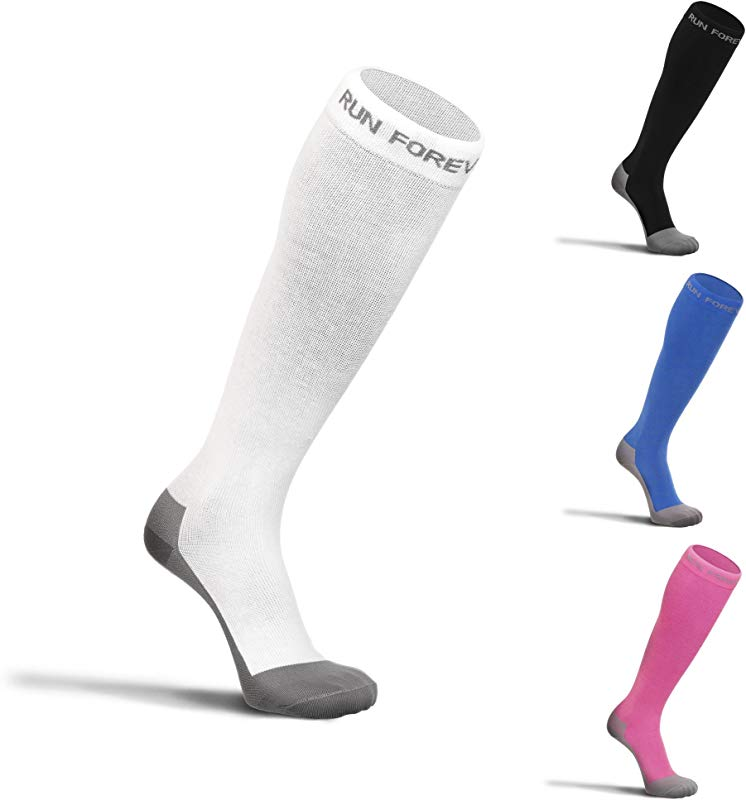 Compression Socks For Men Women Best 20 30mmHg Medical Grade Graduated Recovery Stockings For Nurses Maternity Travel Running Leg Relief Swelling Calf Pain Shin Splints