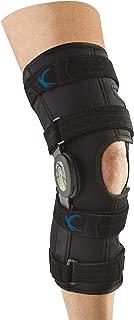 United Ortho 300250-07 Tall Neoprene Wraparound Hinged Knee Support Brace, Large
