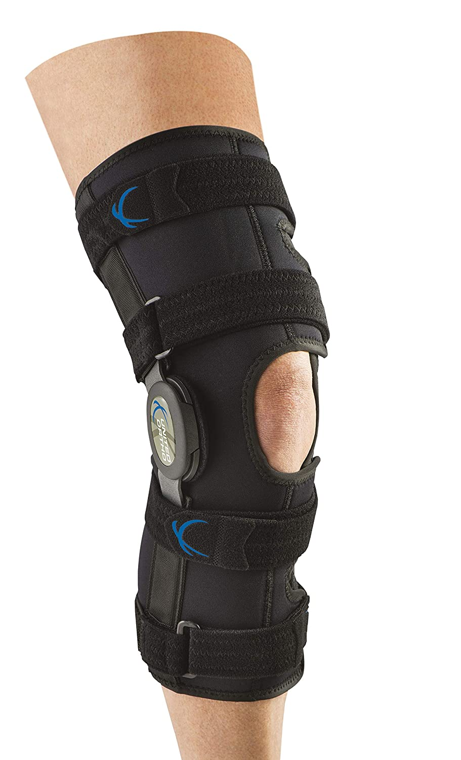 United Ortho 300250-08 Tall Cash special price Neoprene Supp Max 54% OFF Wraparound Knee Hinged